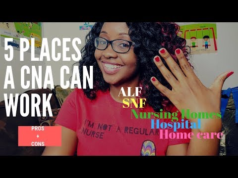 5 Places CNAs Can Work (Pros+Cons|Application Tips)