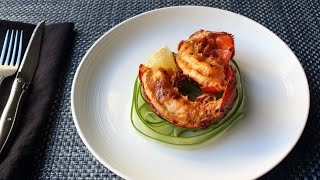 Deviled Lobster Tails - Spicy Broiled Lobster...