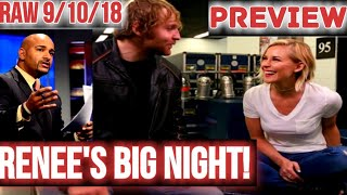 Jonathan Coachman Officially FIRED From RAW Commentary Team! Renee Young IN! RAW PREVIEW 9/10/18