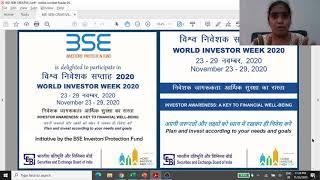 World Investor Week-BSE IPF Hindi Investor Education Video: Secondary Market 8 Trading A/c Brokerage