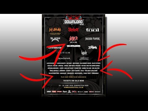 NEW DOWNLOAD FESTIVAL 2019 ANNOUNCEMENT Mp3