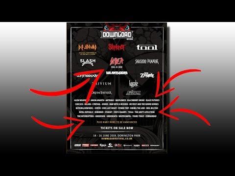 NEW DOWNLOAD FESTIVAL 2019 ANNOUNCEMENT