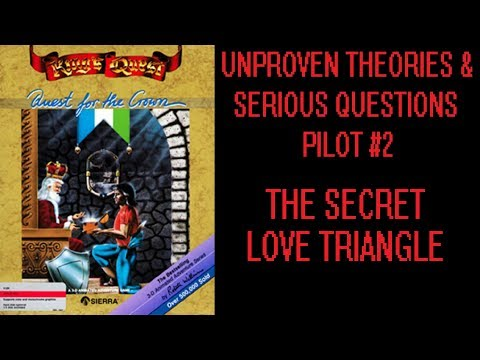 King's Quest - 1990 - SERIOUS QUESTIONS EP2: The Forbidden Love Triangle