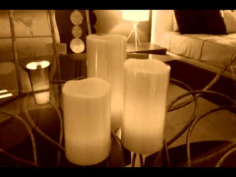 Muebles kalida set de 3 velas led con mando youtube - Velas led con mando ...
