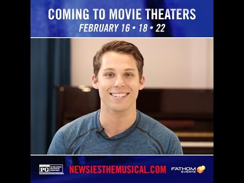 4 Weeks Away: NEWSIES in Theaters!
