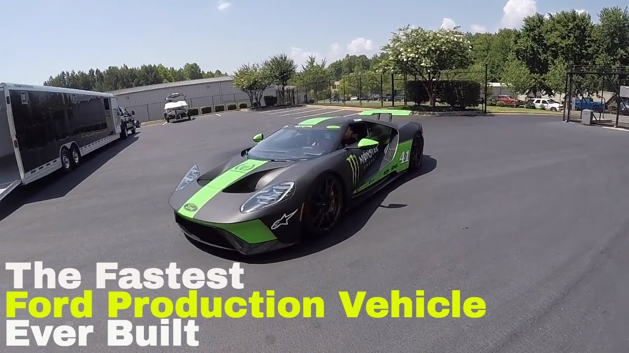 Fords Ultimate Production Car The Ford Gt Owner Nascar Driver Kurt Busch