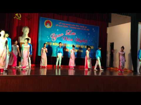 Múa - Nghệ an vươn tầm cao mới - Trường trung cấp nghề kinh tế - kỹ thuật Nghi Lộc