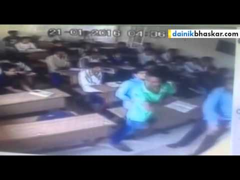 Live Suicide Caught On Cctv Camera - Student Committed Suicide In Surat