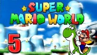 Super Mario Advance 2 - Super Mario Word Part 5: Die Münze in den Wolken