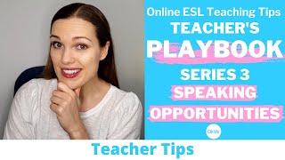 Teacher's Playbook Series 3 | Online ESL Teaching Tips | Qkids (2021)