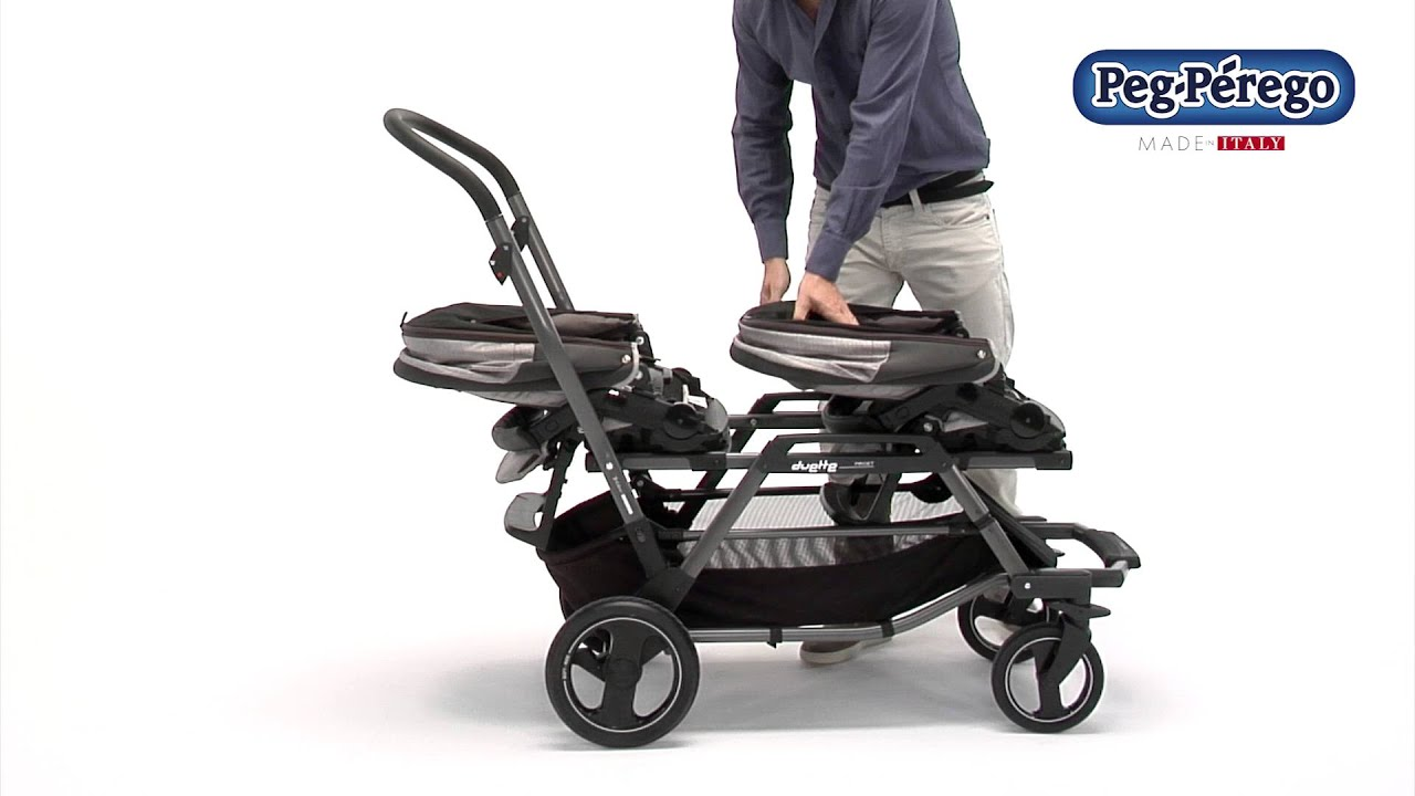 Peg Perego Book Classico Pois Grey Duette Piroet Italian Made Baby Products And Riding Toys