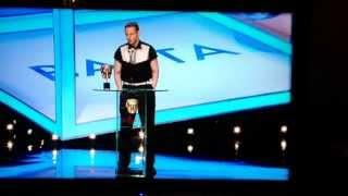 Sean Harris TV Baftas 2014 Best Actor for Southcliffe TV series - acceptance speech.