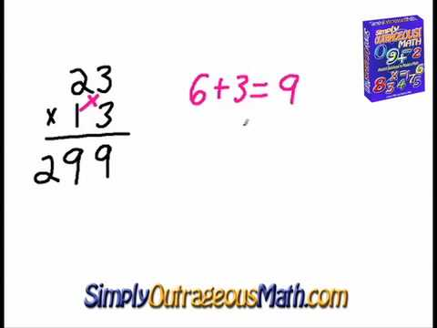 Simply Outrageous Math: Cross Multiplication - YouTube