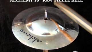 """istanbul Agop - Alchemy 10"""" Raw Sizzle Bell"""