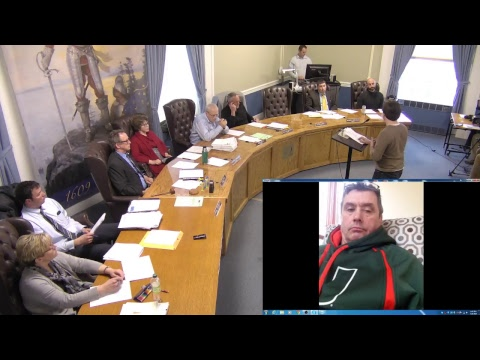 City of Plattsburgh, NY Meeting  3-28-18
