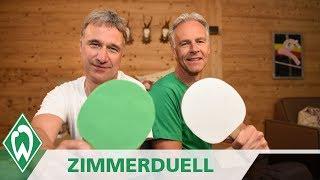 Zimmerduell: Marco Bode & Rune Bratseth | SV Werder Bremen