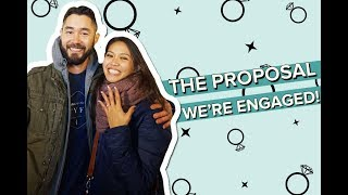 The Proposal - Tim and Izzy are Engaged!