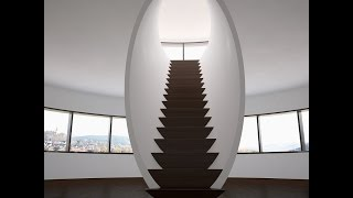 Оригинальные креативные лестницы