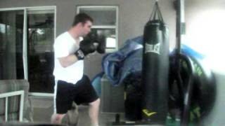 Just me hittin up the Heavy Bag