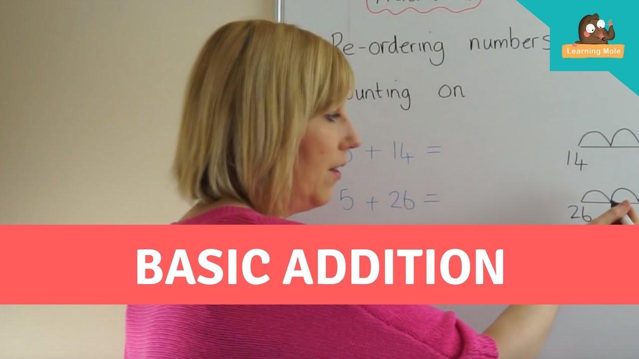 Mental Maths for Kids - Basic Addition For Kids. Children\'s Maths ...