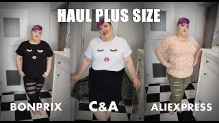 HAUL MIERZYMY PLUS SIZE Bonprix C&A Aliexpress | MoNuSiA