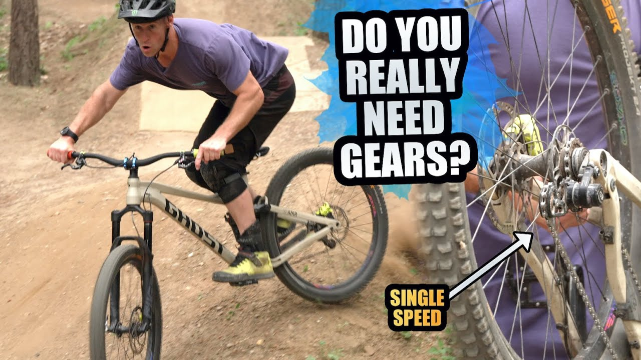 RIDING ENDURO MTB WITH SINGLE SPEED - DO YOU REALLY NEED GEARS?