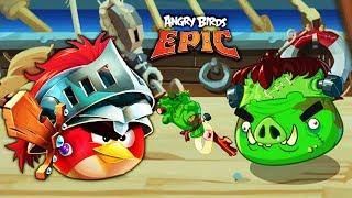 ЗЛЫЕ ПТИЧКИ в ПОГОНЕ за ЯЙЦАМИ! Мульт игра Angry Birds Epic