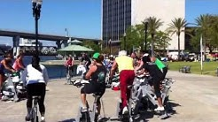Spinning Class St. Johns River Jacksonville FL April 2013