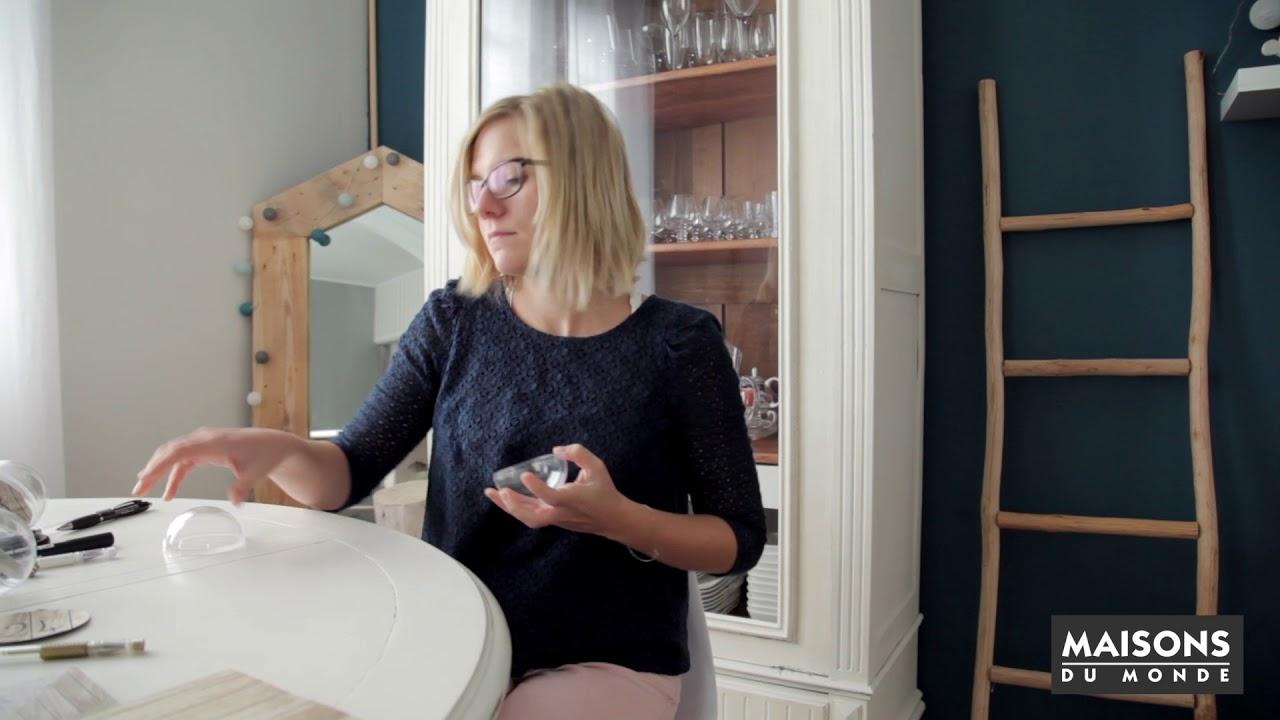comment cr er un calendrier de l 39 avent original maisons du monde youtube. Black Bedroom Furniture Sets. Home Design Ideas