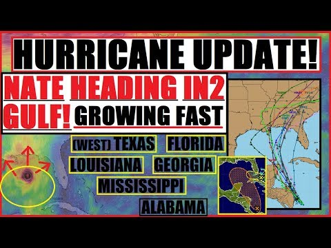 UPDATE! *HURRICANE NATE* MORE then likely (INVEST 90L)  TX/LA/Miss/ALA/FL HAVE A PLAN!