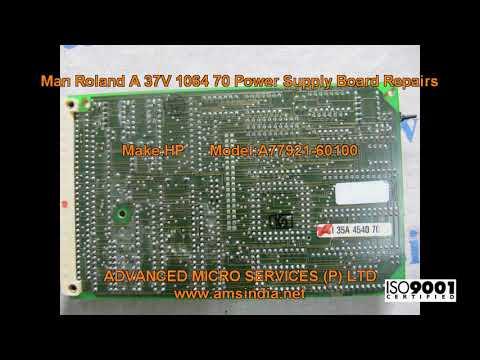 Man Roland A 37V 1064 70 Power Supply Board Repairs@amsindia.net