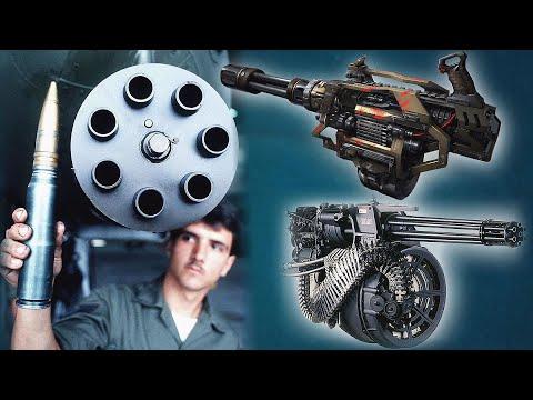 Это самые мощные Пулемёты в мире! - пробивают всё!