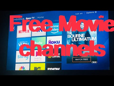 Free Movie Channels For Roku TV