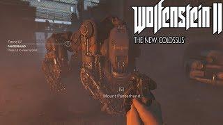 WOLFENSTEIN 2 THE NEW COLOSSUS Panzerhund Gameplay (Wolfenstein II)