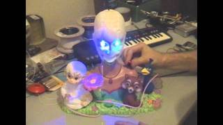 Circuit Bent Barbie Island Princess Singing Head by freeform delusion