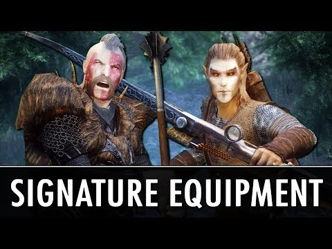 Skyrim Mod: Signature Equipment + More!