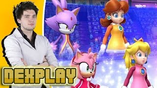TEAM SLAGS | Sonic and Mario at the Winter Olympic Games | Dexplay
