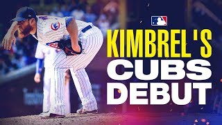 Kimbrel's impressive debut with Cubs
