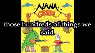 Nana Grizol - Circles