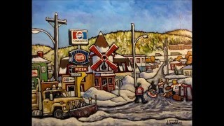 Jacques Raoul Tremblay, artiste peintre, Edmundston, NB, Canada. Vidéo en date du 7 mars 2015.