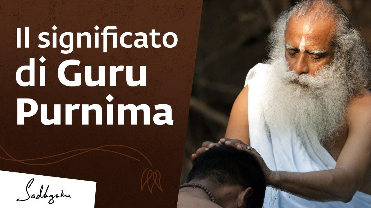 Guru Purnima - Una giornata di grazia e gratitudine | Sadhguru Italiano