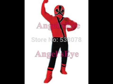 Power Rangers Samurai Red Ranger Mascot Costume Video & Power Rangers Samurai Red Ranger Mascot Costume Video - YouTube