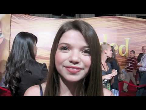 Young Actress JADIN GOULD Gets Adventurous at TANGLED Premiere!