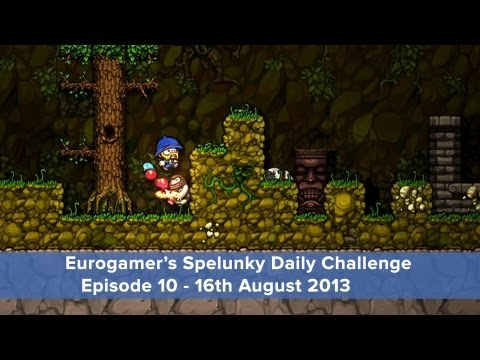 Spelunky Daily Challenge: Episode 10 - 16th August 2013
