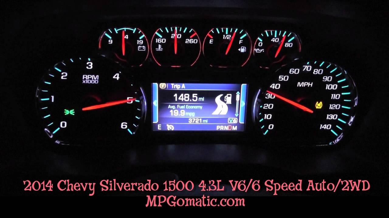 2014 Chevy Silverado V6 1500 Lt 0-60 Mph