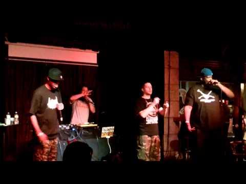 Cannibal Ox - Iron Galaxy - Live 2013 Tampa, FL
