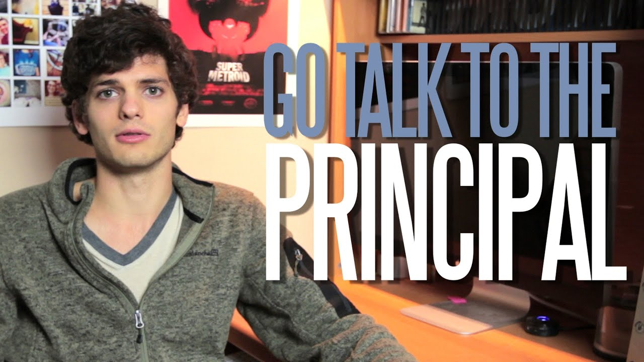 Jordan's Messyges: Go Talk to the Principal