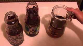Заготовка на зиму.  Пьяная вишня (Drunk cherry)
