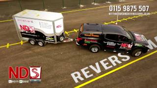B+E TRAILER TRAINING REVERSE MANOEUVRE - Nottinghamshire Driving School