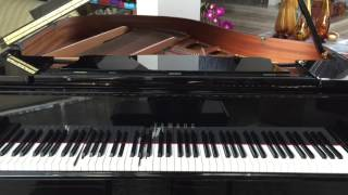 The Five Pennies - learn it on the Baby Grand Piano